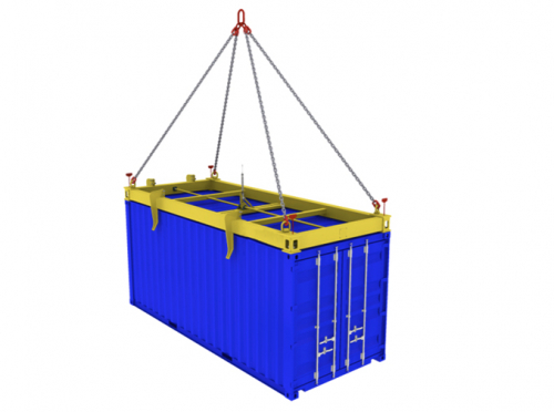 Container spreaders