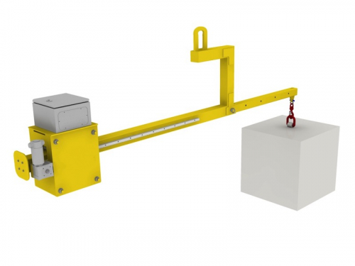 Counterbalance lifting beams
